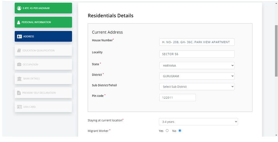 NDUW Residential Information Page